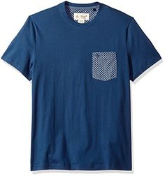 Original Penguin Men's Chambray Geo Printed Pocket Tee Lightweight, lounge-ready t-shirts – don't you want to just throw one on and chill well, you can, with the Original Penguin chambray geo printed pocket tee. It has a ribbed neckline and a slim fit design to look modern and casual Original Penguin – created by originals, for originals. We design products for the man who walks his own path – but doesn't take himself too seriously. When it come