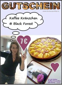 GUTSCHEIN für KAFFEE KRÄNZCHEN @ BLACK FOREST - Support - Herzensprojekt - TV
