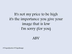 Mi dispiace (per te) - I' m sorry (for you) #quotes #VirgoImage