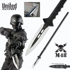 M48 Kommando Talon Survival Spear | BUDK.com - Knives & Swords At The Lowest Prices!