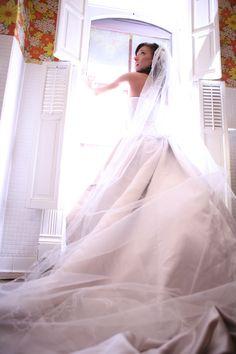 Cathedral veil | HeidiLeePhotography.com