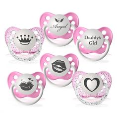 Expression Pacifiers 6 Pack - Ulubulu - Events