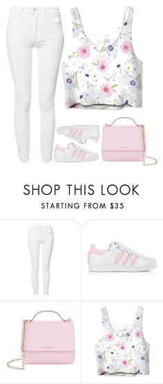 """""""pink love"""" by ecem1 ❤ liked on Polyvore featuring Mother, adidas and Givenchy"""