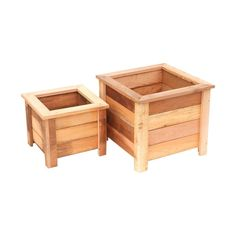 The Susquehanna square planter is quality constructed with rot - resistant Western red cedar harvested from sustainable forests. Western Red Cedar weathers naturally so there is no need to stain or paint for sustainability - just for aesthetics to fit your decor. The planters tighten naturally when filled with dirt and water so no liner is needed. Planters are perfect for growing flowers, fruits, vegetables, and herbs and are great for accenting any outdoor landscape or outdoor living area.