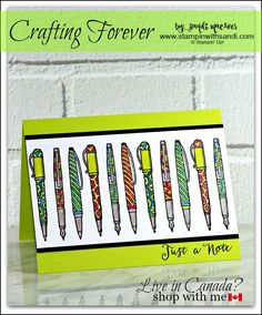 Crafting Forever Stampin Up card by Sandi @ www.stampinwithsandi.com