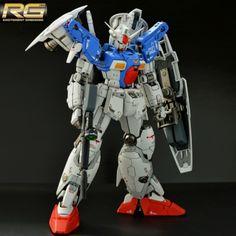 GUNDAM GUY: RG 1/144 Gundam GP01FB Full Burnern - Painted build