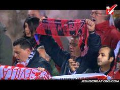 Himno del Centernario Sevilla FC Cantado en el Ramón Sánchez Pizjuán  Partido de Semifinales de Copa del Rey.    De http://youtu.be/cP5KYADHA1Y