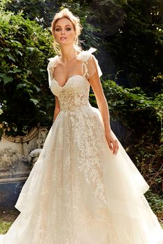 ed3c13e4f3c84 Bridal Gowns by Eve of Milady - Boutique wedding dresses Style 1584 Eve Of  Milady