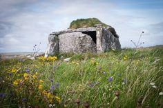 Parknabinia wedge tomb Burren, Clare, Ireland