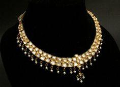 Indian Wedding Jewelry, Indian Jewelry, Emerald Necklace, Necklace Set, Gold Necklaces, Gold Jewelry, Jewellery Box, Jewelery, Rajput Jewellery