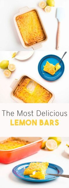 The Most Delicious Lemon Bars. Easy to make, full of flavour and seriously zesty. I love this Lemon Bars recipe because it is packed with lemony flavours. - Baking-Ginger
