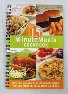 The Food Lovers Fat Loss System 15 Minute Meals Cookbook - SOLD