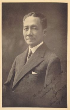 Sergio P. Osmena was the Vice President of President Manuel L. When the latter died of sickness at the height of WW II, he succeeded as President. President Of The Philippines, Filipino Fashion, From Rags To Riches, Philippines Culture, Filipiniana, Pinoy, Current Events, In The Heights, Presidents