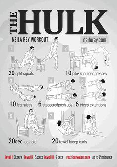 Entrénate como un superhéroe con estas tablas de ejercicios — cribeo
