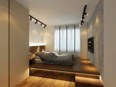 home decor and Condo Design, Home Room Design, Modern Bedroom Design, Home Design Plans, Home Interior Design, Bedroom Setup, Small Room Bedroom, Home Decor Bedroom, Master Bedroom