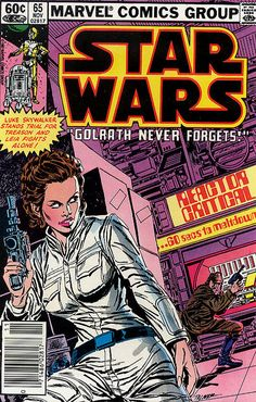 Star Wars (Marvel) 65 Leia fights alone..