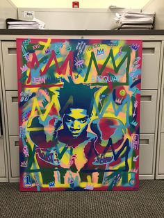 Hey, I found this really awesome Etsy listing at https://www.etsy.com/uk/listing/551710969/jean-michel-basquiat-painting-stencil