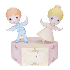 Dancing Dolls - Moving Toys - Toys - Paper Craft - Canon CREATIVE PARK