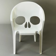 Midnight in the Garden of Evil: Skull Chairs, Skeleton Chairs