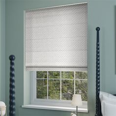 Elision Silver Roman Blind from Blinds 2go