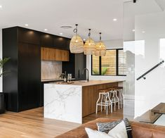 Modern, sophisticated and in a prime position, this St Heliers home ticks all the boxes for both stylish but comfortable living Ray White Real Estate, Parking Building, Urban Decor, Garage Interior, White Oak Floors, Timber Deck, Level Homes, Built In Wardrobe, Open Plan Living