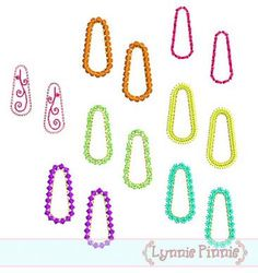 Embroidery Designs - Snap Hair Clip Covers 30mm 4x4 - Welcome to Lynnie Pinnie.com! Instant download and free applique machine embroidery designs in PES, HUS, JEF, DST, EXP, VIP, XXX AND ART formats.