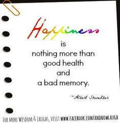 Happiness quote via www.Facebook.com/AndNowLaugh