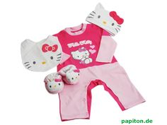 hello kitty newborn clothing | Hello Kitty pink baby clothing set 0-3 months online at Papiton.