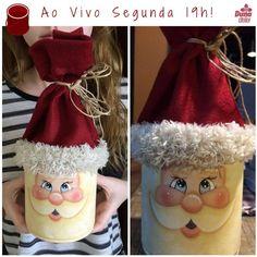 Christmas Craft Fair, Christmas Favors, Christmas Love, Rustic Christmas, Christmas Projects, Christmas Decorations, Christmas Ornaments, Christmas Wine Bottles, Painted Wine Bottles