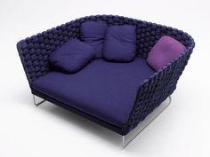Fabric sofa Ami Collection by Paola Lenti | design Francesco Rota