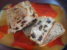 Gluten Free, Dairy Free, Soy Free Raisin Walnut Cocktail Bread