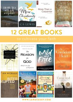 12 Great Books to help you cultivate your faith (and other resources!)