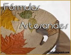 Fórmulas artesanales Parte I Bead Crafts, Fun Crafts, Diy And Crafts, Arts And Crafts, Art Attak, Diy Resin Mold, Pasta Piedra, Fabric Crafts, Paper Crafts