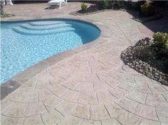 23 Best Concrete Around Pool Ideas Images Concrete Patio