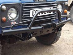 defender front bumper