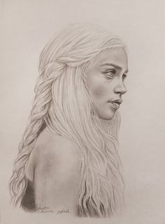 Daenerys targaryen by on deviantart the art of people идеи для ри Pencil Drawings For Beginners, Realistic Drawings, My Drawings, Game Of Thrones Drawings, Game Of Thrones Art, Butterfly Illustration, Watercolor Illustration, Tyron Lannister, 20 Years Old