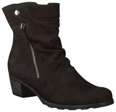 Zwarte Gabor korte laarzen 603 - Zwarte Gabor korte laarzen 603 online kopen bij Omoda Schoenen