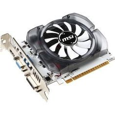 MSI N730-2GD3V3 GeForce GT 730 Graphic Card - 700 MHz Core - 2 GB DDR3 Sdram - PCI Express 2.0 x16 - 128 bit Bus Width - Fan Cooler - DirectX 12, OpenGL 4.4 - 1 x Hdmi - 1 x VGA - 1 x Total Number of DVI - PC - Dual Link DVI Supported White PCB 49W HDI Dsub Hdmi