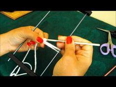 Cómo tejer con horquilla / Tutorial | Crochet y Dos agujas - Patrones de tejido