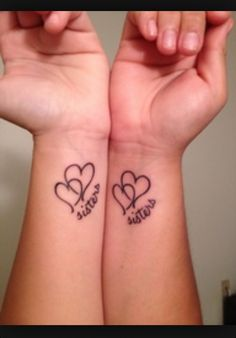 Sister tattoo i want to get this tatoo with one of my sisters <3