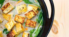 Misosoppa med stekt tofu