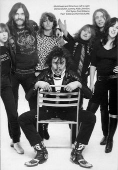 Motorhead and Girlschool - At a time when no studio or radio station would take an all female metal band seriously. Lemmy and Motorhead took them under their wing, showed them the ropes, took them on tour and shoved Girlschool down the critic's throats until they were forced to admit that they were pretty damn good!
