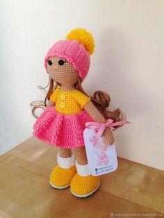 Вязаная кукла (в наличии) – купить в интернет-магазине на Ярмарке Мастеров с доставкой - EY28RRU