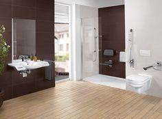 La colección de baños O.novo continúa ampliándose #ceramica #sanitarios #inodoro #lavabo #bañospequeños #Onovo #necesidadesespeciales