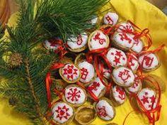 Výsledek obrázku pro slaměné vánoční ozdoby
