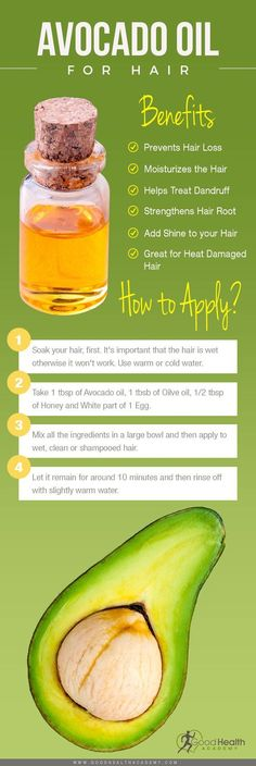 Avocado oil for Hair | Benefits & How to use it #haircareandtreatment,