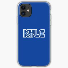 'Kyle Gamer Player' iPhone Case by el-patron Gamer Names, Iphone Case Covers, Iphone 11, It Works, Type, Printed, Awesome, People, Art