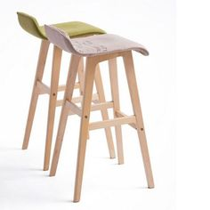 100% wood Bar chair,Bar stools sillas,cadeira,pastoral style bar chair,leisure style,Multiple color choices,Wood Bar furniture