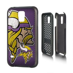 Minnesota Vikings Samsung Galaxy S5 Phone Rugged Phone Cover Durable NFL NEW!!