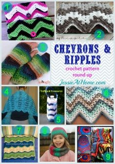 One of the first stitch patterns I learned was the chevron. It is a classic. I have even shared an amusing story with you about a chevron blanket I made in undergrad. As crochet has grown, the chevron has been adapted in many ways. It has been rounded out to make ripples or waves, it …